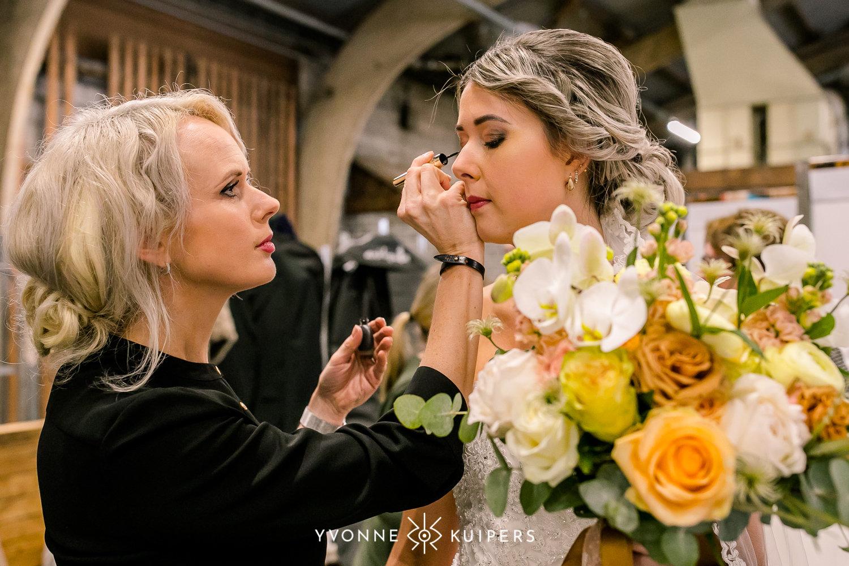 Bruiloft make-up